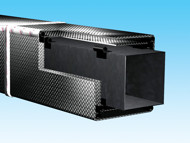 Duct Insulation Outdoor R 8 0 Reflectix Inc