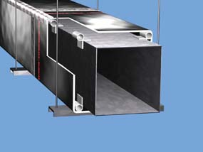 Fiber Sq Duct Rtx Spacer 72 Rgb Reflectix Inc