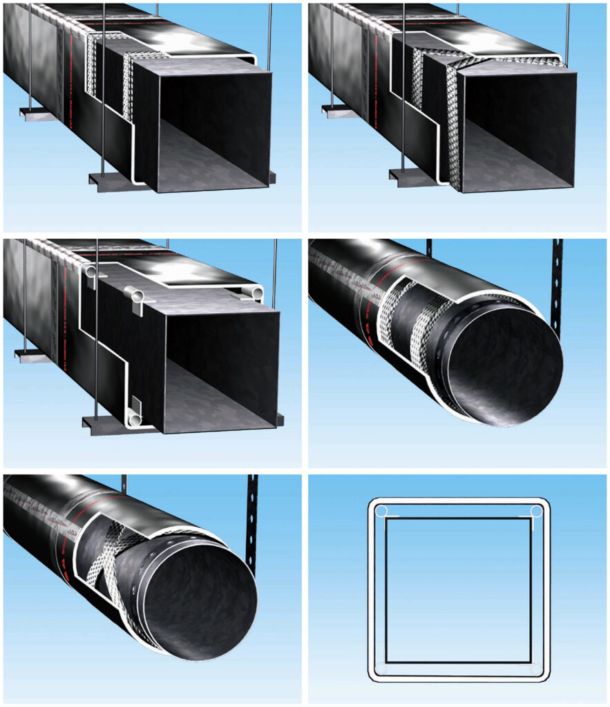 Fiber Duct Insulation R 8 0 Reflectix Inc