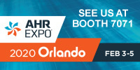 AHR Expo 2020 Orlando: Feb 3-5, Booth 7071