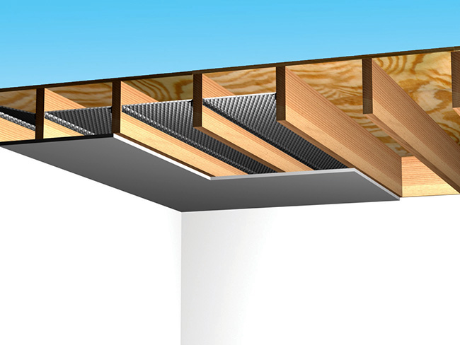 Basement Ceiling | Reflectix, Inc