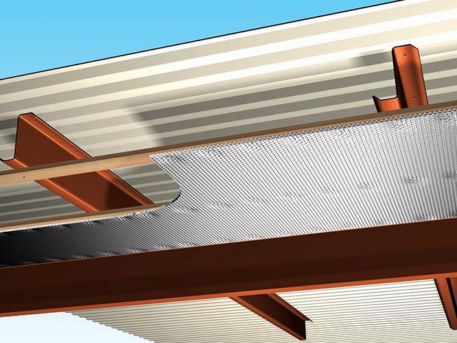 Metal Building Roof Retrofit Reflectix Inc