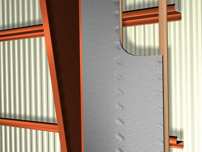 Metal Building U2013 Wall U2013 Retrofit. Open Interior