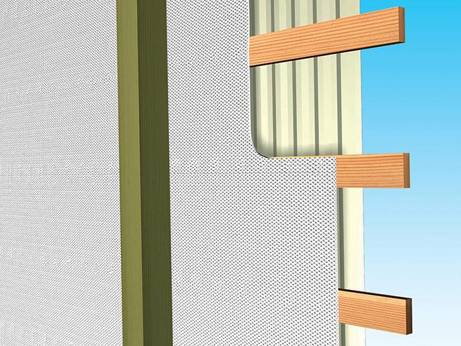 Post Frame Building – Wall – Retrofit | Reflectix, Inc.