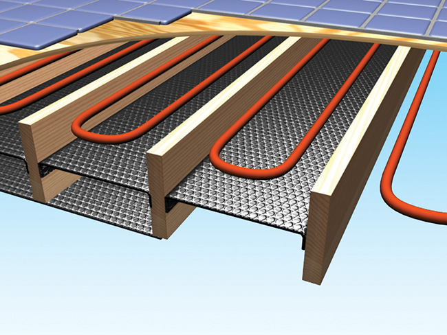 Radiant Floor Wood Joists Reflectix Inc